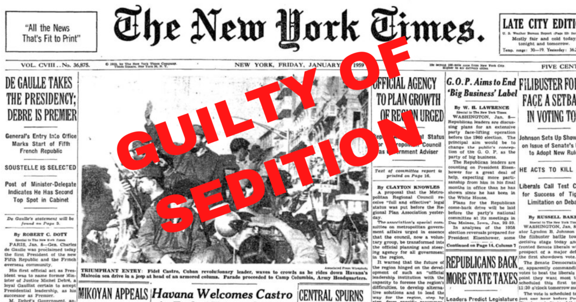 SEDITION: New York Times calls for UN to Help Remove Trump if He Wins