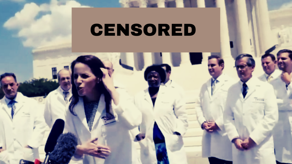 Censored By the Medical Tyranny: Frontline Doctors Hold Second Summit in DC