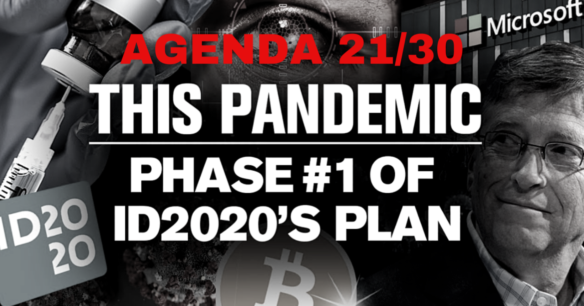 """The Real Danger of Covid 19: """"AGENDA ID2020"""""""