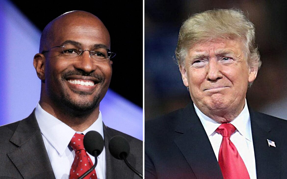 CNN's Van Jones attacked by liberals for saying Trump 'has done good stuff for the black community' and 'does not get enough credit'