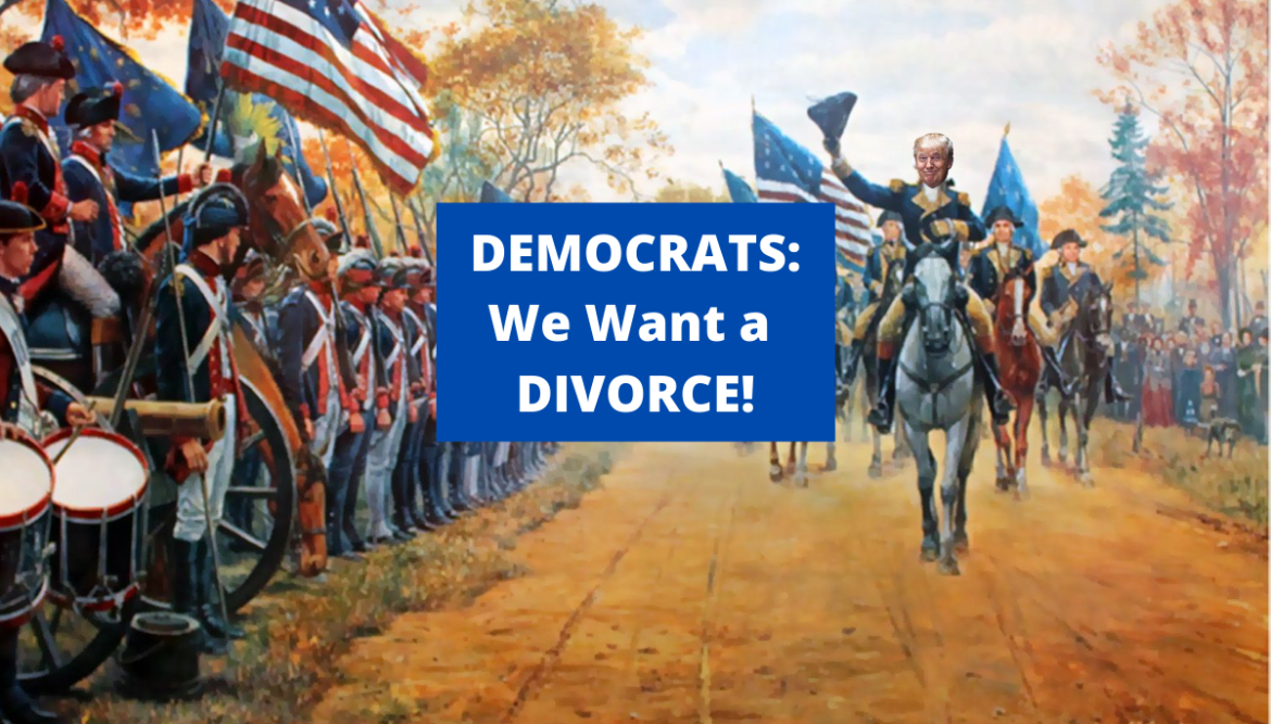 DIVORCE AGREEMENT Between Republicans & Democrats, Written by a Young College Student