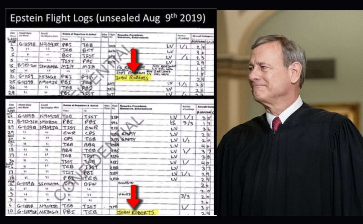 Did Chief Justice Roberts Just Get Fileted by the Epstein Tapes?