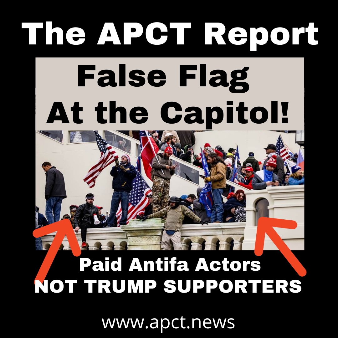 False Flag at the Capitol! Unedited Video of Paid Actors and Fake Shooting! (APCT VIDEO)