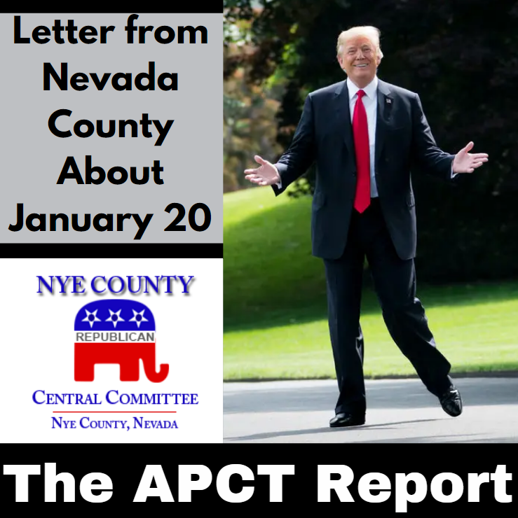 Letter From Nevada County About January 20 (APCT Video)