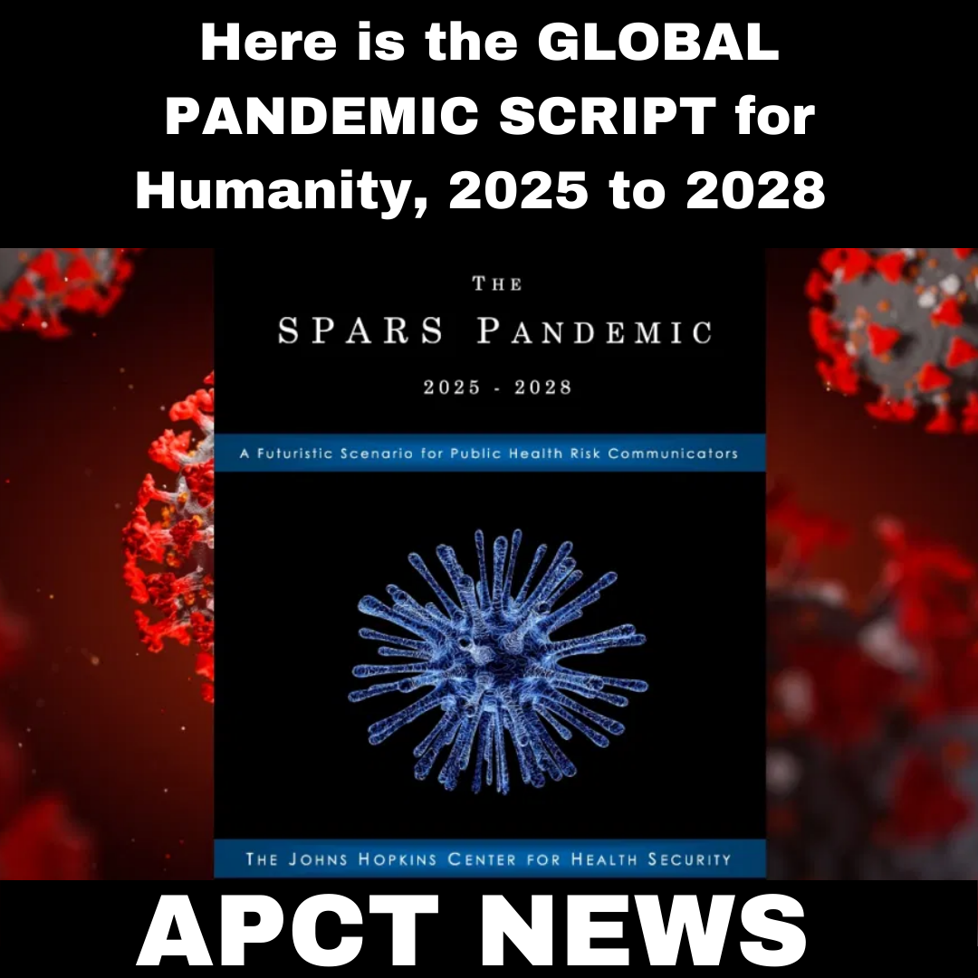 Here is the GLOBAL PANDEMIC SCRIPT for Humanity, 2025 to 2028