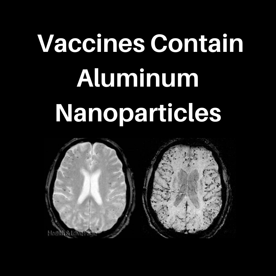BEWARE: Aluminum Nanoparticles Used in Vaccines Travel into the Brain