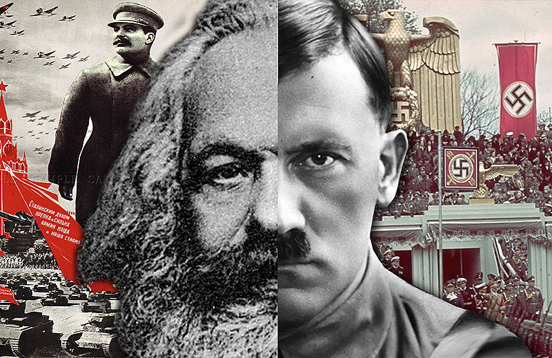 Hitler Was a Socialist Who Learned from Karl Marx. Here Are the Quotes to Prove It